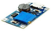 Модуль MT3608 с microUSB повышающий DC/DC